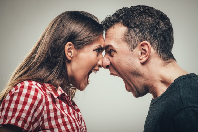 Couple Fighting - Conflict Resolution